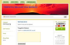 contoh blog wordpress